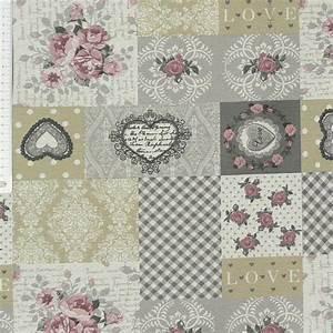 Beschichtete Stoffe Für Taschen : tischdeckenstoff beschichtete baumwolle patchwork rosen romantisch stoffe wohnstoffe tischw sche ~ Orissabook.com Haus und Dekorationen