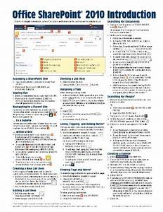 Pdf  Microsoft Sharepoint 2010 Quick Reference Guide