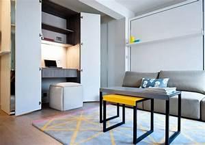 Schreibtisch Im Schrank : arbeitsplatz drucker wohnzimmer verstecken schreibtisch im schrank integriert einfach ~ Orissabook.com Haus und Dekorationen