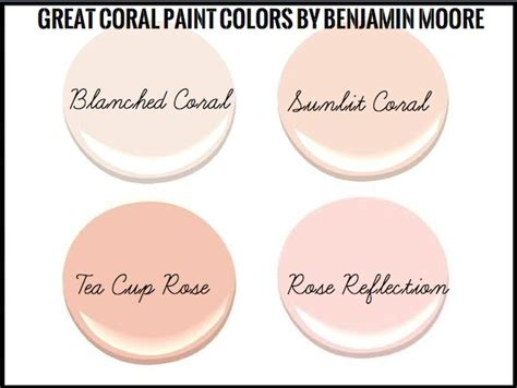1000 ideas about coral painted walls on paint