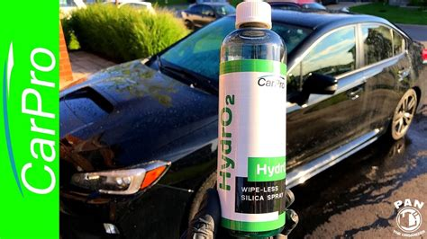 The Fastest Way To Wax A Car! Carpro Hydro2 !!! (demo