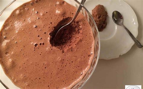 mousse au chocolat au lait et sa pointe de gingembre