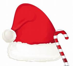 Santa Hat clipart cute - Pencil and in color santa hat ...
