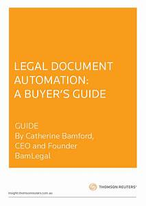 Legal document automation a buyer39s guide guide for Legal document automation