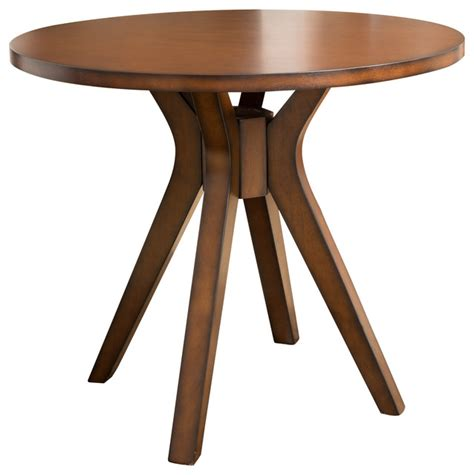 pub table solid wood noel round counter height solid wood dining table