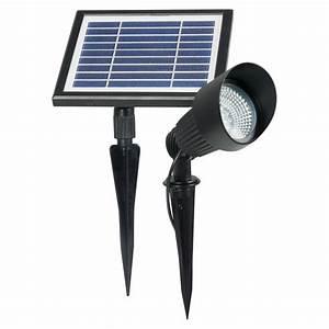 Spot Solaire Extérieur : spot solaire puissant fonte d 39 aluminium verre spots ~ Melissatoandfro.com Idées de Décoration