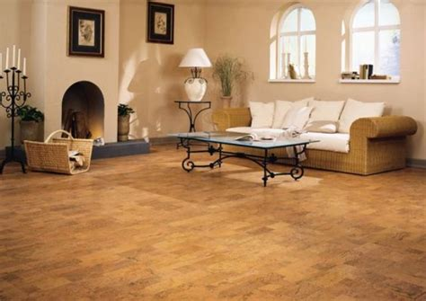 Cool Living Room Flooring by 32 Cool Cork Flooring Ideas For Maximum Comfort Digsdigs