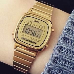 Montre Vintage Casio : la montre casio bien dans son temps l 39 heure du vintage ~ Maxctalentgroup.com Avis de Voitures
