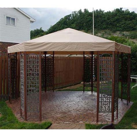 sams club psi hexagon gazebo replacement canopy garden winds