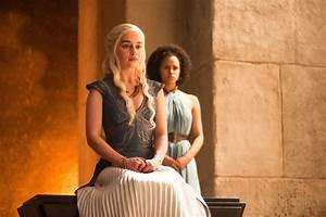 Wallpaper Daenerys Targaryen Missandei Game Of Thrones