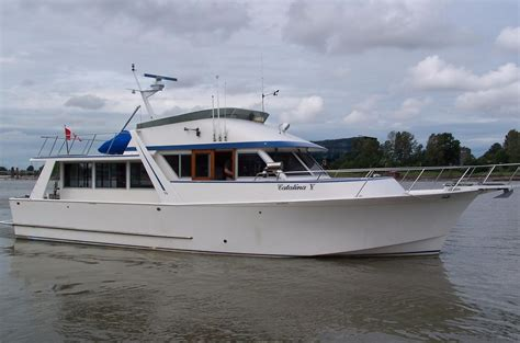 Motor Boats For Sale Vancouver Bc by 1985 Nordic 48 Boat For Sale 48 Foot 1985 Motor Boat In