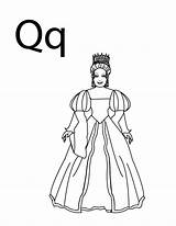 Coloring Letter Queen Alphabet Tara Princess Toddler Lego Barbie Quilt Crafts Stay Friends Power Lesson Craft Folders Colpages sketch template
