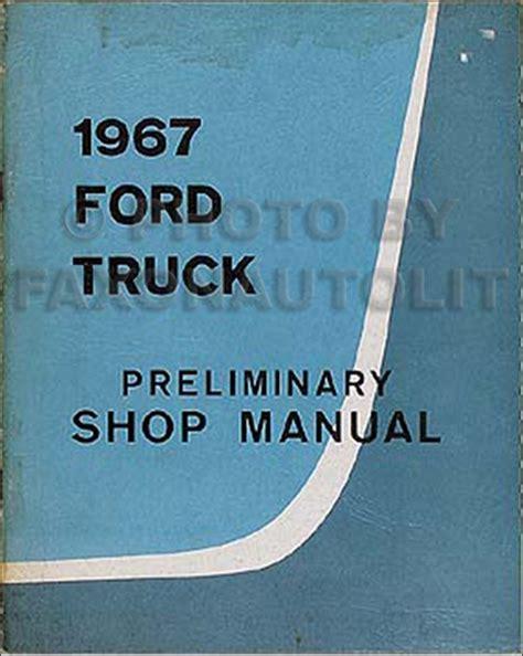 Ford Thru Truck Wiring Diagram Manual Reprint