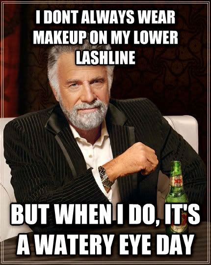 Watery Eyes Meme - livememe com the most interesting man in the world