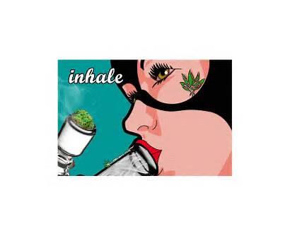 Weed Cartoon Bong Marijuana Catwoman Smoke Stoner