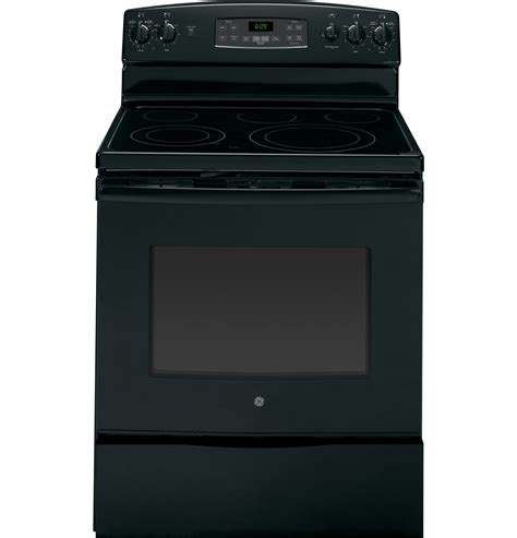 general electric jbdfbb  freestanding electric range   cu ft convection oven