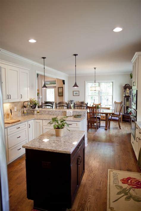 u shaped kitchens with islands u shape kitchen with island by homes inc