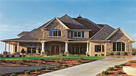 French Country House Plans With Porches French Country