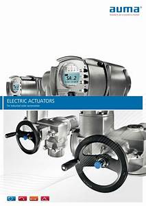 Electric Actuators For Industrial Valve Automation