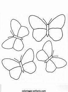 Dessin Facile Papillon : 98 dessins de coloriage papillon facile imprimer ~ Melissatoandfro.com Idées de Décoration