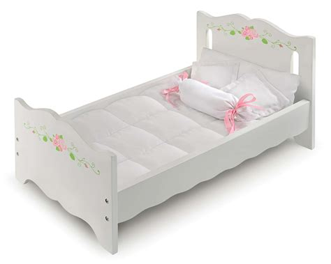 furniture 18 photos mattresses badger basket white doll bed reviews goedekers com