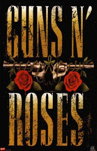 guns  roses guns  roses logo poster amoeba