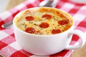 Pizza In Der Mikrowelle : mini pizza in einer tasse sie k nnen es in 5 minuten zubereiten indem sie es in der mikrowelle ~ Buech-reservation.com Haus und Dekorationen
