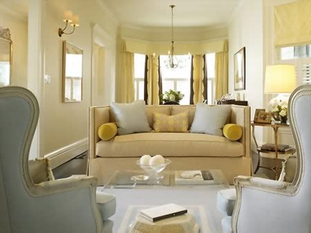 pretty pale yellow paint color living room