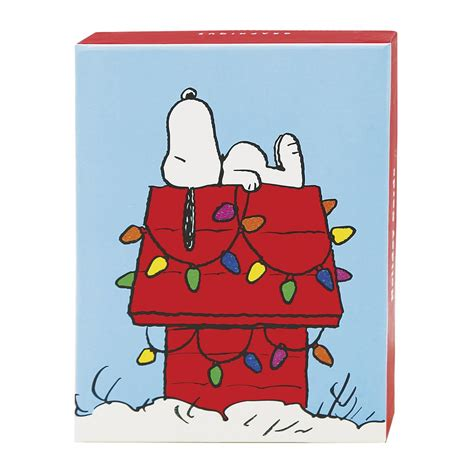 snoopy christmas images snoopy assorted boxed cards
