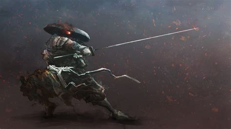 Artwork, Digital Art, Samurai, Warrior, Katana Wallpapers