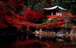 Japanese Garden HD Wallpaper