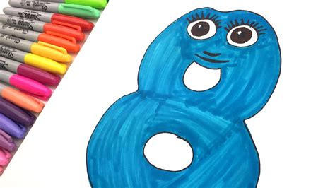 bbs cbeebies numberjacks  kids learning maths coloring number  youtube