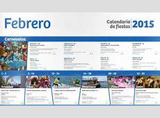 Calendario de Fiestas en Perú Febrero 2015 #Promperú