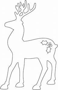 how to make a reindeer and santa sleigh part 1 reindeer With reindeer cut out template