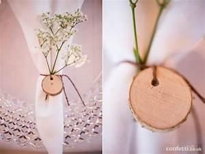 rustic wedding decor ideas confetticouk With wedding napkin ring ideas