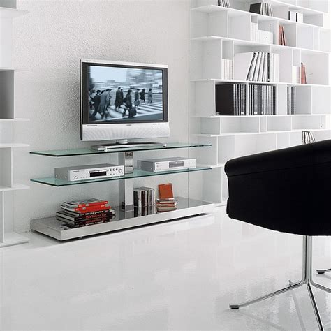 trendy tv units   space conscious modern home