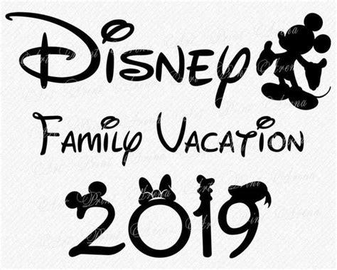 Want free disney svg cut files for cricut design space? Disney Family Vacation 2019 SVG Disney Trip 2019 SVG ...