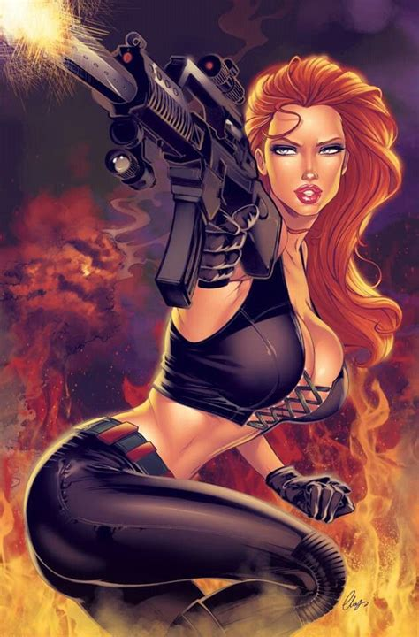 Hot Redhead Comic Book Characters Im Inspired By