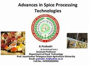 Advances in spice processing