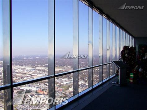 observation deck windows jpmorgan chase tower houston