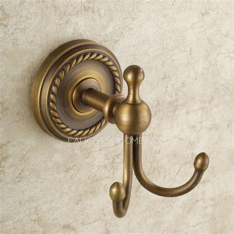 european style antique brass hooks bathroom hooks