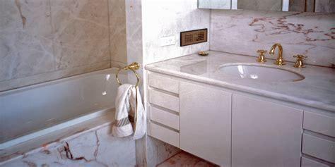 Bathroom   Rosa Aurora Marble   Stonemasons Melbourne