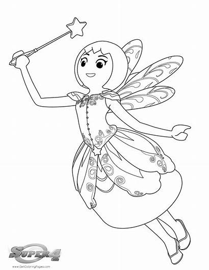 Coloring Pages Playmobil Super Colouring Fairy Printable