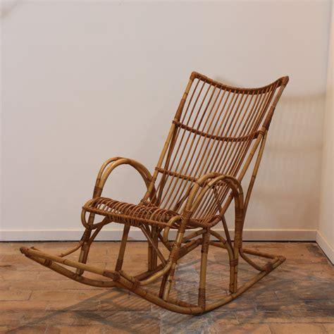 rocking chair en rotin rocking chair en rotin