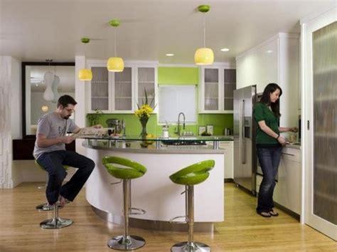 green bar kitchen кухня зеленого цвета дизайн интерьера на фото 1348