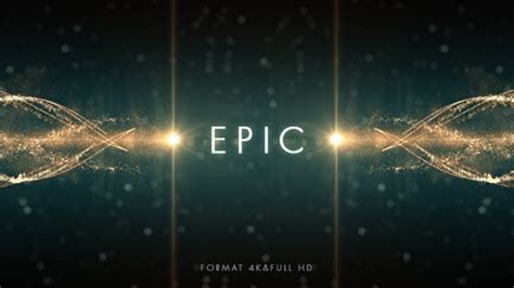 Free After Effects Title Templates by Videohive Epic Logo Free After Effects Templates