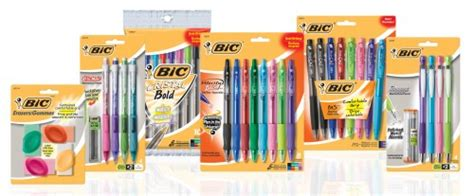 Office Depot Coupons December 2012 by 1 1 Bic Stationery Printable Coupon Free Bic Pens At