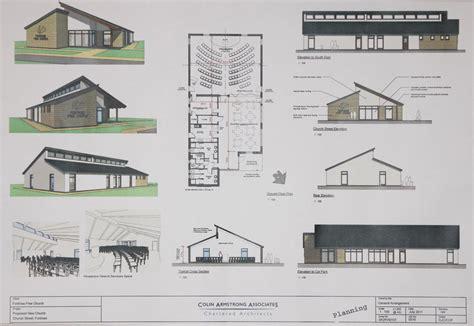 build house plans free home design likable church build design plan church