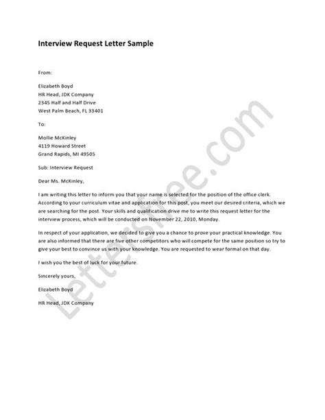 tips for writing request letter resume