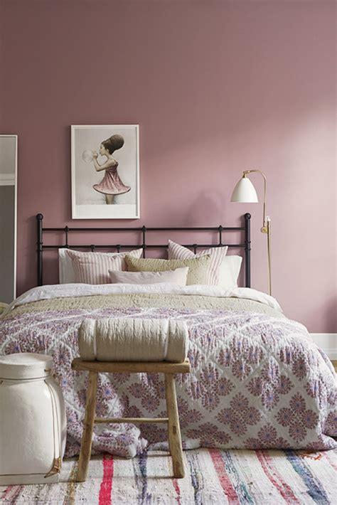 couleur romantique pour chambre couleur peinture chambre à coucher 30 idées inspirantes